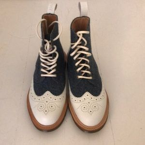 Dr. Martens oxford style boots